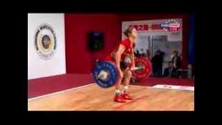 Женщины 58 кг Толчок ЧМ-2013