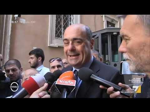 Nicola Zingaretti: 'Nessuna ipotesi di governo con i 5stelle'