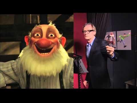 Arthur Christmas  Bill Nighy Voicing GrandSanta