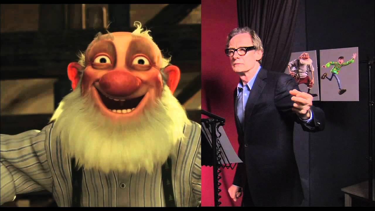 Arthur Christmas Bill Nighy Voicing Grandsanta Youtube