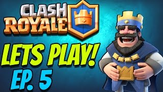 "Clash Royale OMG! HE'S A NOOB ""Let's Play EP. 5"" (Low Level INSANITY)"