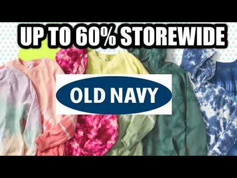 12/4/2020 OLD NAVY UP TO 60% OFF WINTER  SALE  * SHOP WITH ME *