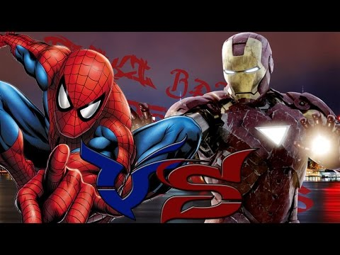 Spider-man vs Iron-man || Friki batallas de rap legendarias || DarckStar ft.Lozio