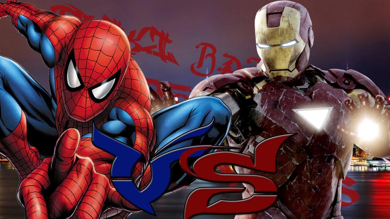 Spider-man vs Iron-man    Friki batallas de rap ...