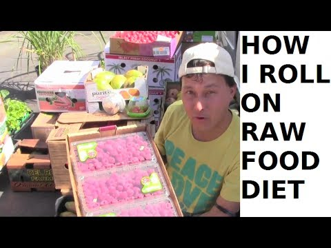 How I Roll on a Raw Food Diet: Exposing the Low Cost of Orga
