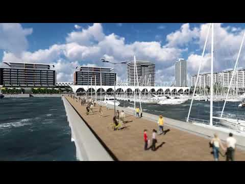 Downtown Kingston Jamaica Waterfront Redevelopment - YouTube