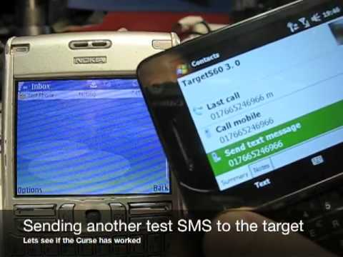 SMS 'Curse of Silence' smartphone Symbian S60