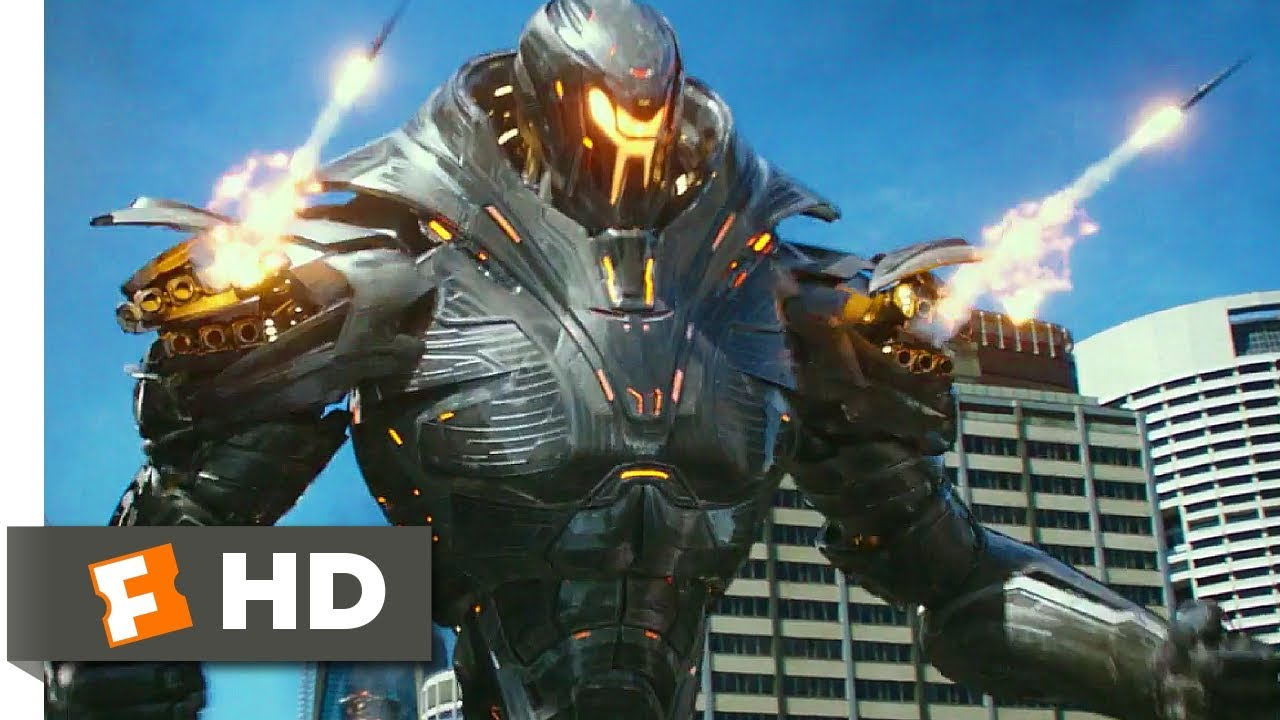 Pacific Rim Uprising (2018) - The Rogue Jaeger Scene (2/10)   Movieclips - YouTube