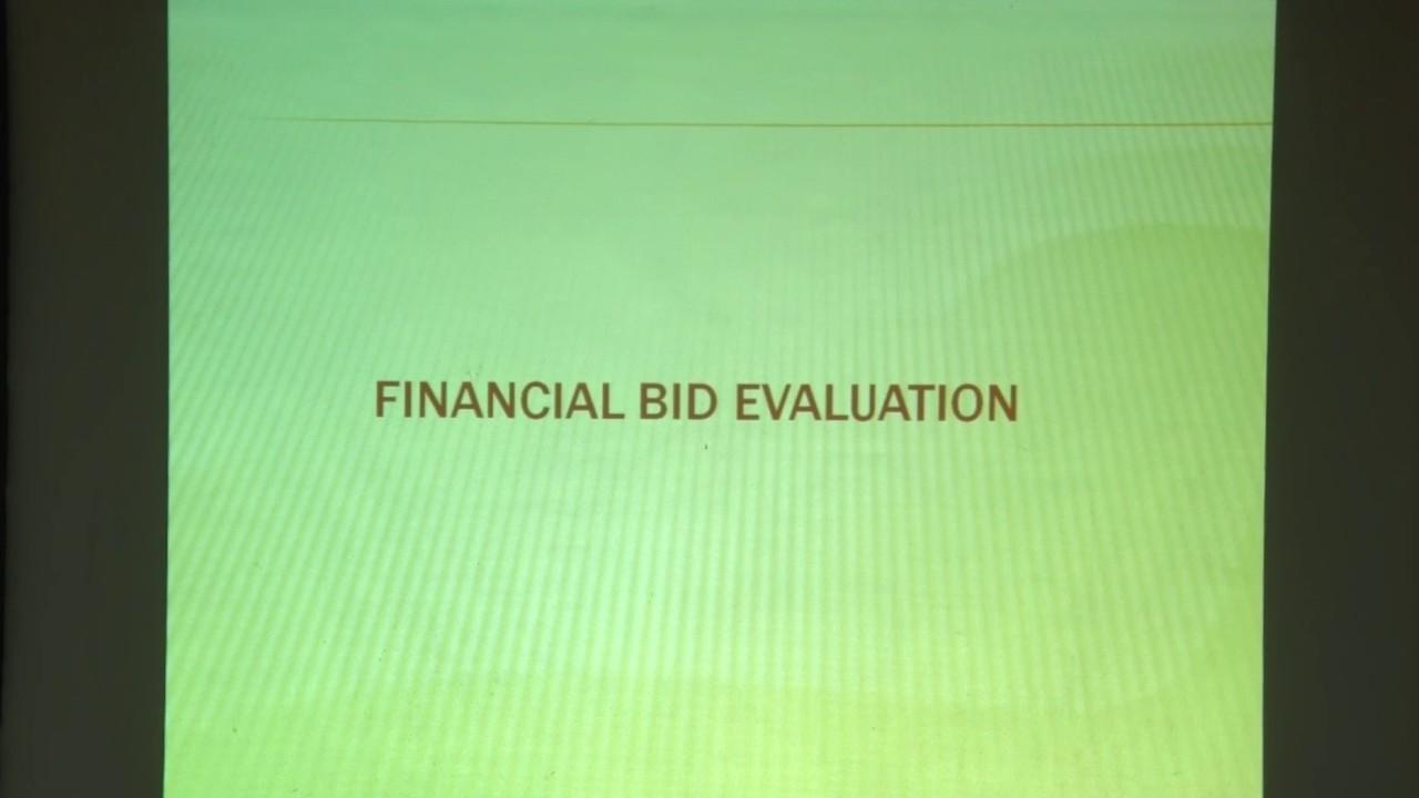 4 Financial Bid Opening & Award Of Contract