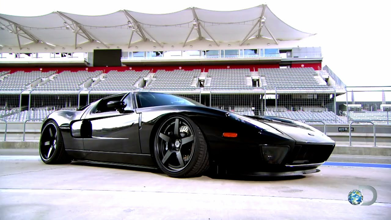 Epic gas monkey ford gt hits the track youtube for Garage low cost auto