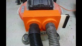 Make A Multi  Blast Gate For A Vacuum