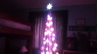 Gemmy Color Changing Musical Tree