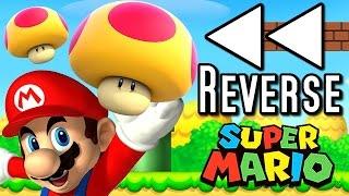 Super Mario ALL MEGA MUSHROOMS in REVERSE (Wii U, 3DS, DS)