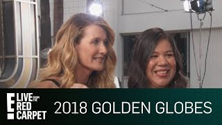Laura Dern Fights for Women's Rights at 2018 Globes | E! Live from the Red Carpet