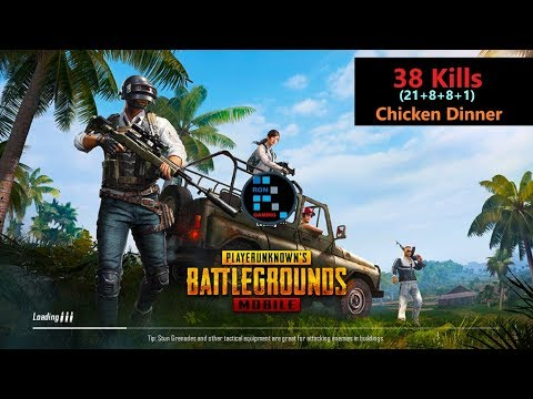 [Hindi] PUBG Mobile | '38 Kills' Amazing match With Chicken Dinner