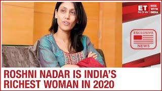 Roshni Nadar Malhotra is the wealthiest woman in Kotak Wealth and Hurun India's list