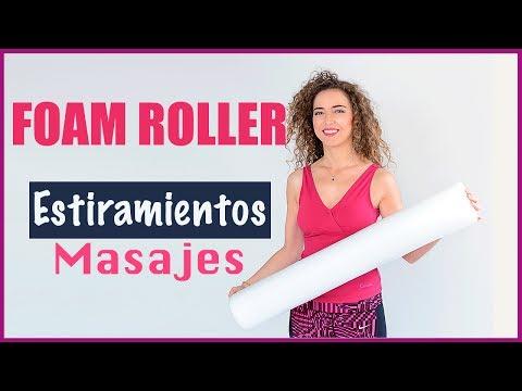 Estiramientos Masajes  con FOAM ROLLER / Corine Pieri