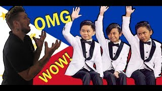 REACTING TO TNT BOYS! LITTLE BIG SHOTS! ENGLISH IN THE PHILIPPINES VLOG!