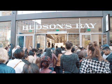 Showtime | Hudson's Bay grand opening Den Haag
