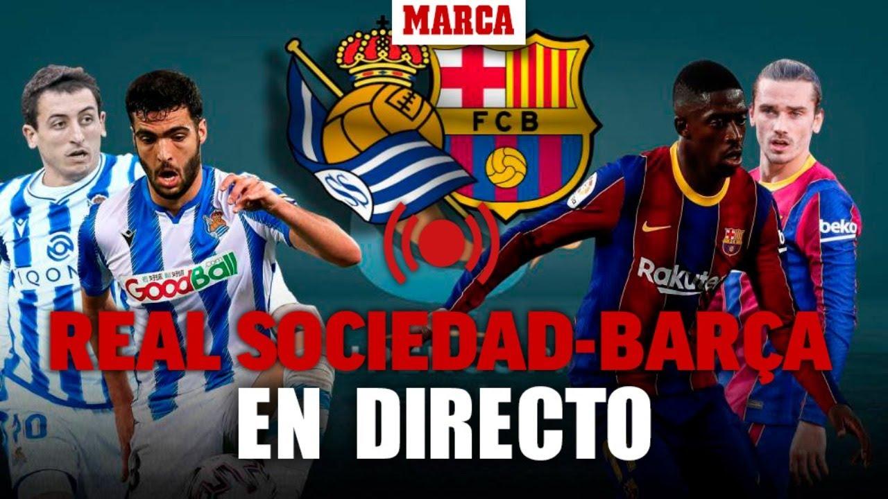 Xem lại bóng đá Real Sociedad vs Barcelona, Siêu cup TBN (14/01)