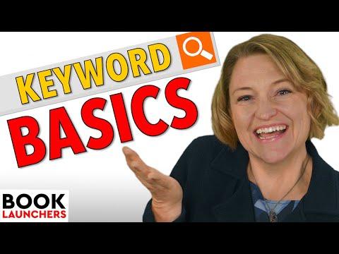 Book Keyword Basics For Authors