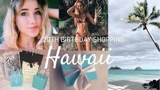20TH BIRTHDAY SHOPPING IN WAIKIKI | Hawaii vlog