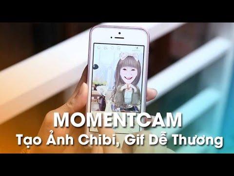 Ứng Dụng MomentCam (Bản nâng cấp)- Tạo Ảnh Chibi Và Ảnh Động Siêu Dễ Thương