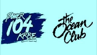 KRBE (Power 104) LIVE from The Ocean Club (Oct 1988)
