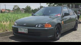1994 Honda Civic ESI Sedan FULL REVIEW Interior, Exterior, Engine, Exhaust