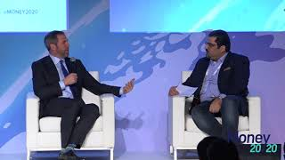Ripple at Money20/20 fireside talk in Singapore with bgarlinghouse CEO of Ripple