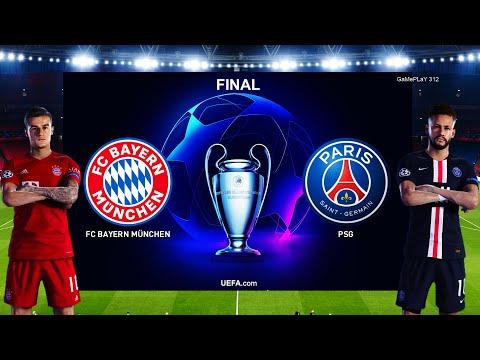 Pes 2020 Bayern Munich Vs Psg Uefa Champions League Final Ucl Penalty Shootout Gameplay Pc Youtube