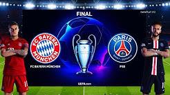 PES 2020 - Bayern Munich vs PSG - UEFA Champions League Final UCL - Penalty Shootout - Gameplay PC