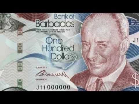 Barbados New Money 2013 Series