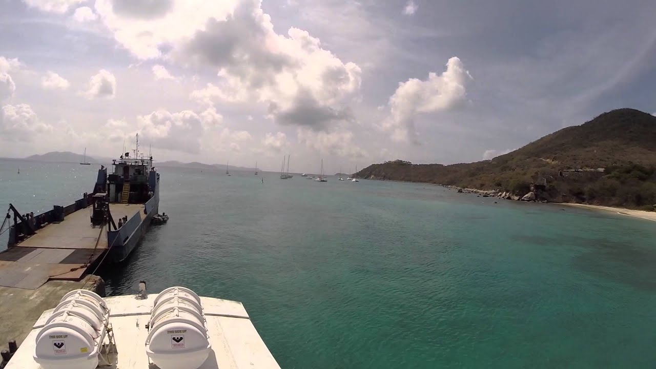 GoPro HD: Virgin Gorda BVI Ferry Dock