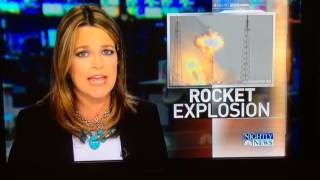 SpaceX Rocket was blown up by UFOs..Oh Come on!  You didn't see them?