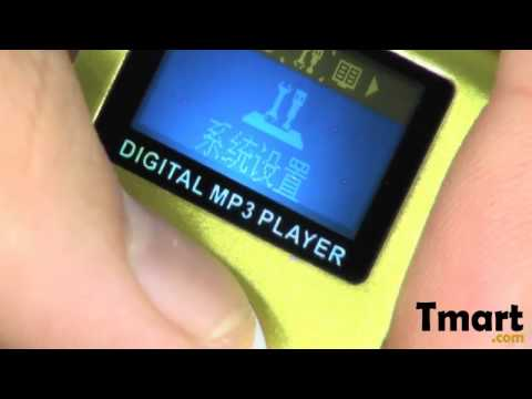 $12.59 2GB Small Screen Clip MP3 Player Blue-88005878