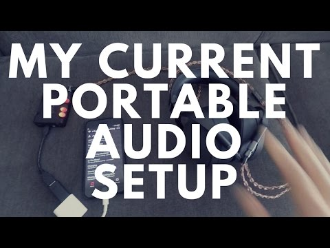 ►My Current Portable/Transportable Headphone Set Up 🎧