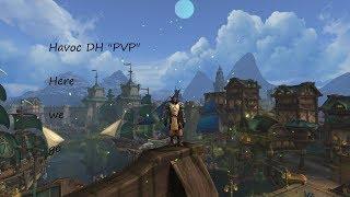 Havoc demon hunter pvp arena BFA LVL 120: Here we go [wow]