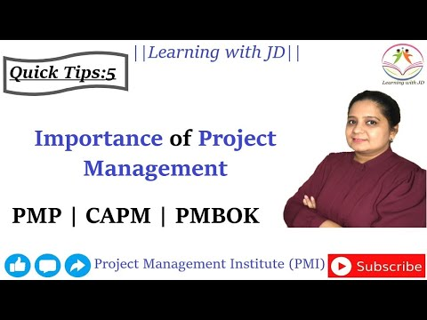 pmp-&-capm-quick-tips-5---what-is-the-importance-of-project-management?-|-pmi-|-pmbok