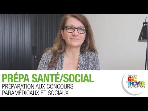 Présentation des Prépa Santé/Social du Groupe ESC Troyes