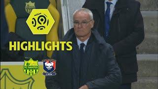 FC Nantes - SM Caen (1-0) - Highlights - (FCN - SMC) / 2017-18