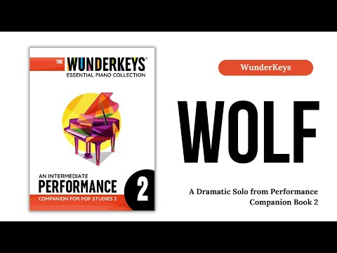 """""""Wolf"""" - Intermediate Teen Piano Solo by Andrea Dow"""