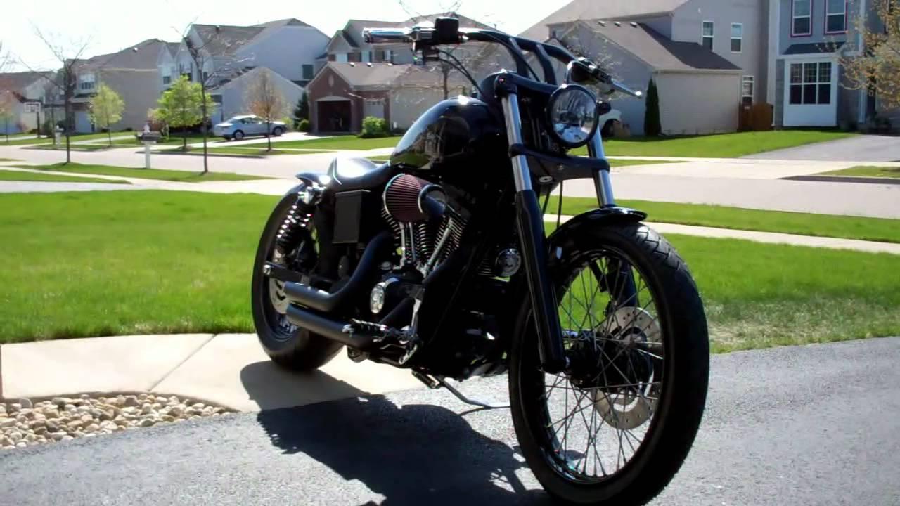 Custom Harley Davidson Dyna Fxdl Build: My 2004 Harley Dyna Custom Project 2011-2012 #24