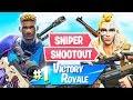 New Sniper Shootout Game Mode! (Fortnite Battle Royale)