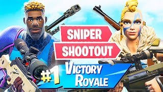 New Sniper Shootout Game Mode! (Fortnite Battle Royale)