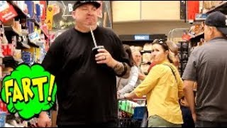Funny Wet Fart Prank!! The Sharter Toy Wet Clean up