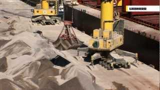 Gambar cover Liebherr - LHM Mobile Harbour Cranes:  Bulk Handling
