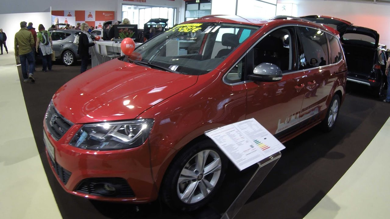 seat alhambra fr line romance red colour walkaround. Black Bedroom Furniture Sets. Home Design Ideas