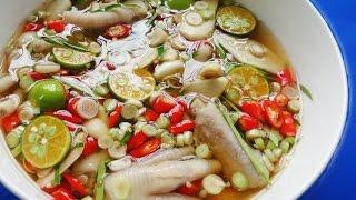 Cách làm CHÂN GÀ NGÂM SẢ TẮC siêu ngon quá dễ - Món Ăn Ngon