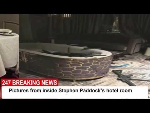 Inside Stephen Paddock S Hotel Room Las Vegas 247